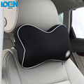 High Quality Car Headrest Neck Pillow Space Memory Fabric Neck Headrest Car Covers Breathable Pillow Car