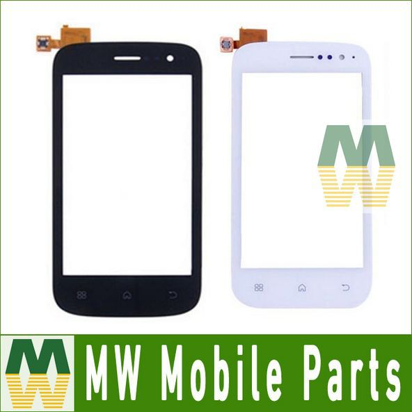 White/ Black Color 10PCS/Lot  88USD/Lot Digitizer Touch Screen Touch Panel Glass Repair Part For Wiko Cink Slim Free DHL EMS