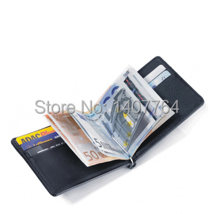 Brand Men Genuine Leather Wallets Money Organizer Men Wallets Money Clip Wallet Clutch(China (Mainland))