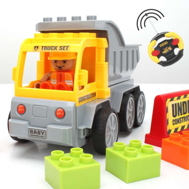 2014 New Radio Control Building Bricks Car Educational DIY Plastic RC Toy Construction Blocks Best Gift Children - Uooei's Store--Ship From Hongkong store
