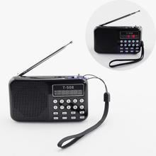 New Arrive Classic FM Radio receiver MP3 Music Player Speaker Supported USB Disk/TF Card Playing to Elders Kids 130645