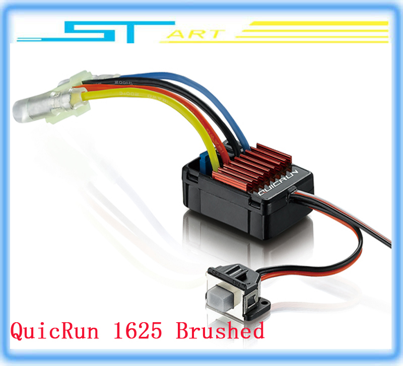 5 pcs HobbyWing QuicRun Brushed 25A ESC Speed Controller ESC for 1/18 1/16 RC Touring Car Buggy Monster Truggy lo supernova sale<br><br>Aliexpress