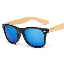 2016 Retro Bamboo Wood Sunglasses Men Women Brand Designer Sport Goggles Gold Mirror Sun Glasses UV400 Shades lunette oculo 1501(China (Mainland))