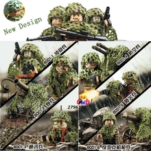 Buy 6pcs ww2 swat Military Armed Assault Soldier Weapon Tank building blocks lepin action figure model bricks Baby toys children for $4.31 in AliExpress store