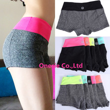 Women Sports Fitness Yoga Shorts For Workout Run Slimming Beach Hiking Female Running Ladies High Waist