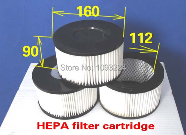 HEPA filter cartridge (Used inside Two-stage cyclone head ) (45 pieces )(China (Mainland))