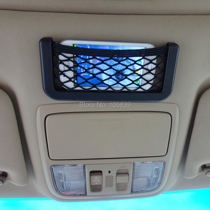 Convenient Car Auto String Mesh Net Storage Bag PHONE Holder Pocket Unimpressed Car Net Bag Pocket Bag 3pcs/lot(China (Mainland))
