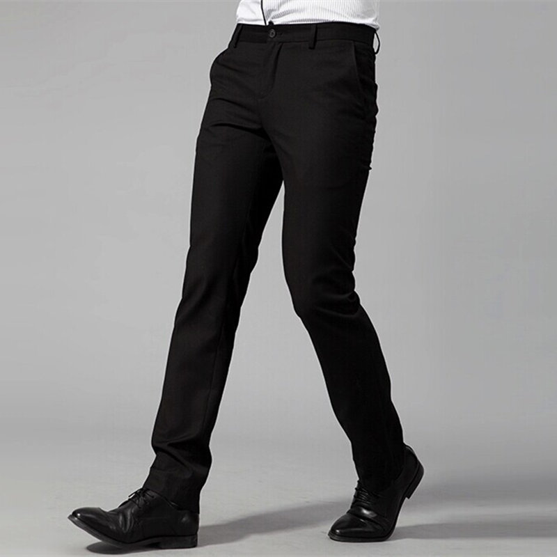 High Quality!! Men Dress Pants 2015 New Brand Slim Fit Business Gentleman Suit pants Formal Smooth easy-care Trousers Plus SizeОдежда и ак�е��уары<br><br><br>Aliexpress
