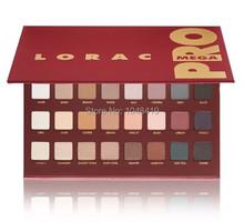 2014 new Lorac MEGA PRO Palette eyeshadow makeup 32 color LORAC PRO Palette mega eye shadow palette Free shipping(China (Mainland))