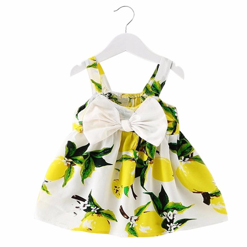 Princess-Baby-Dresses-Girl-Flower-Printe...