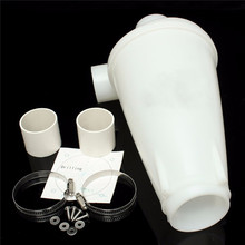 Set of Latest Improved White ABS Plastic Version Cyclone Dust Separator Collector for Vacuum Cleaner(China (Mainland))