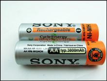8 шт. / lot ni-mh aa перезаряжаемый аккумулятор 1,2 v 3800 mah для Sony перезаряжаемый аккумулятор 1,2 v / ni-mh аккумулятор