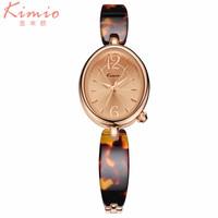 KIMIO Brand Fashion Women Watch Luxury Quartz Wristwatch Elegant Ladies Dress Bracelet Watch Relogio Feminino female clock hours