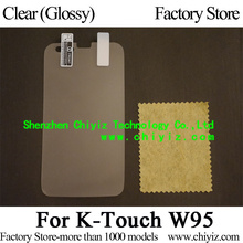 Clear Glossy Screen Protector Guard Cover protective Film For K-Touch W95