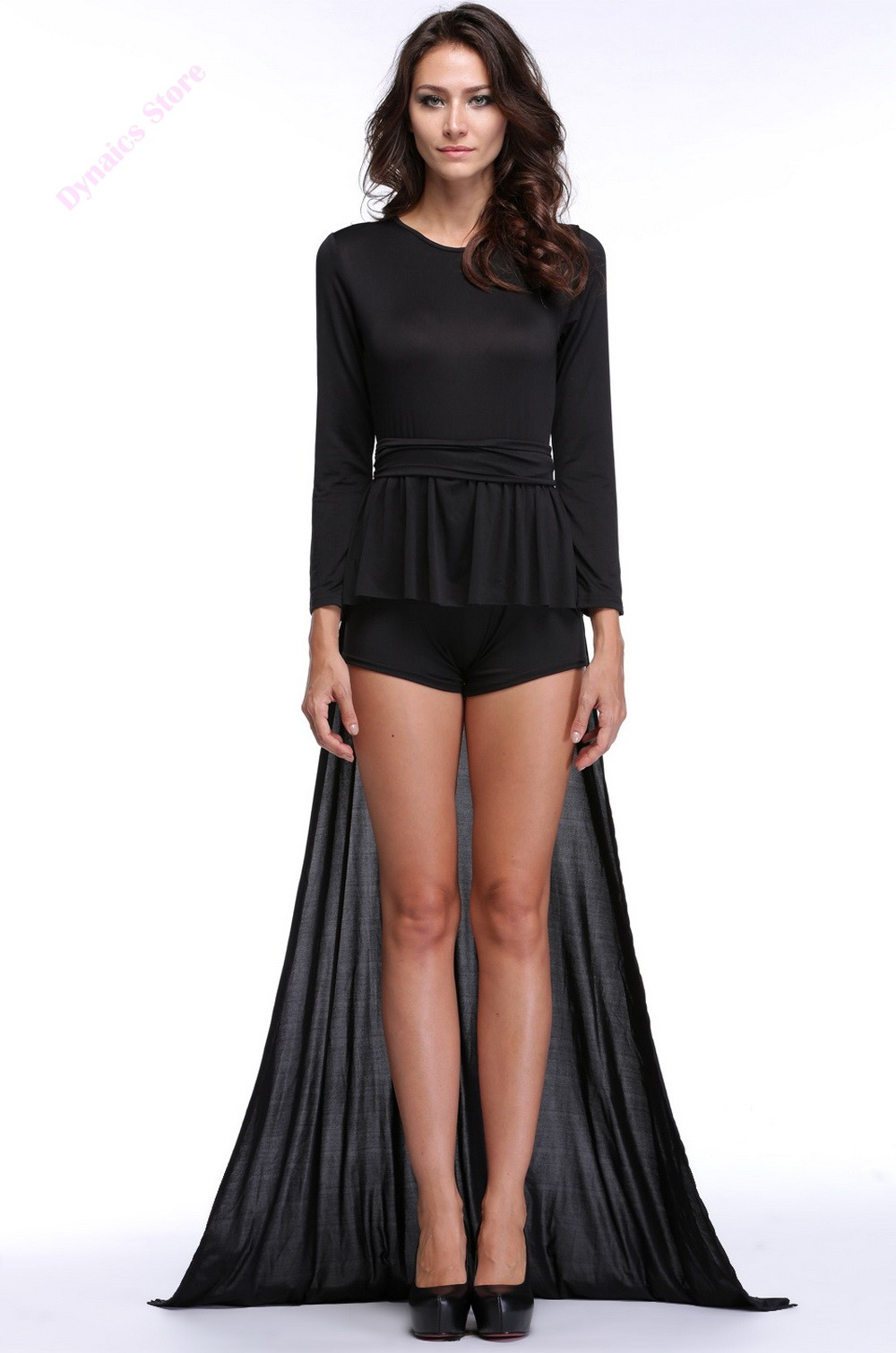 Hot SAle Women Jumpsuit Lady Elegant Long Sleeve Prom Ball Formal Party Full Jumpsuits Rompers 29