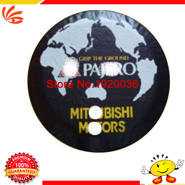 """Car styling! For Pajero Car modified PU spare tire cover custom off-road 14 """"15"""" 16 """"17"""" PVC spare wheel cover MI-30(China (Mainland))"""