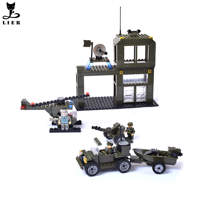 399 Pieces Army Construction Building Bricks Set Educational Toys For Kids Building Block Toys Best for Children Gift DA057<br><br>Aliexpress