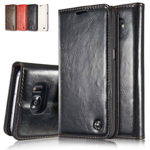 For Samsung Galaxy Note 7 Wallet Case 2016 Pouch Leather Phone Bag for Samsung S7 S7 Edge S5 S6 Edge Plus S4 S5 Mini Flip Cover(China (Mainland))