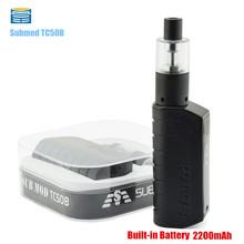 Nueva Subtech Sub Mod TC50B Cuero piel 50 W Cigarrillo electrónico H9 Sub mod con 2.0 ML Atomizador 2800 mAh MOD Cigarrillo electrónico vaporizador