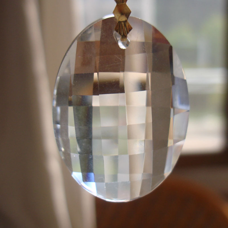 Newest 2280 pcs/lot 38mm Transparent egg shape lighting part crystal lamp chandelier prism chandelier hanging accessories<br><br>Aliexpress