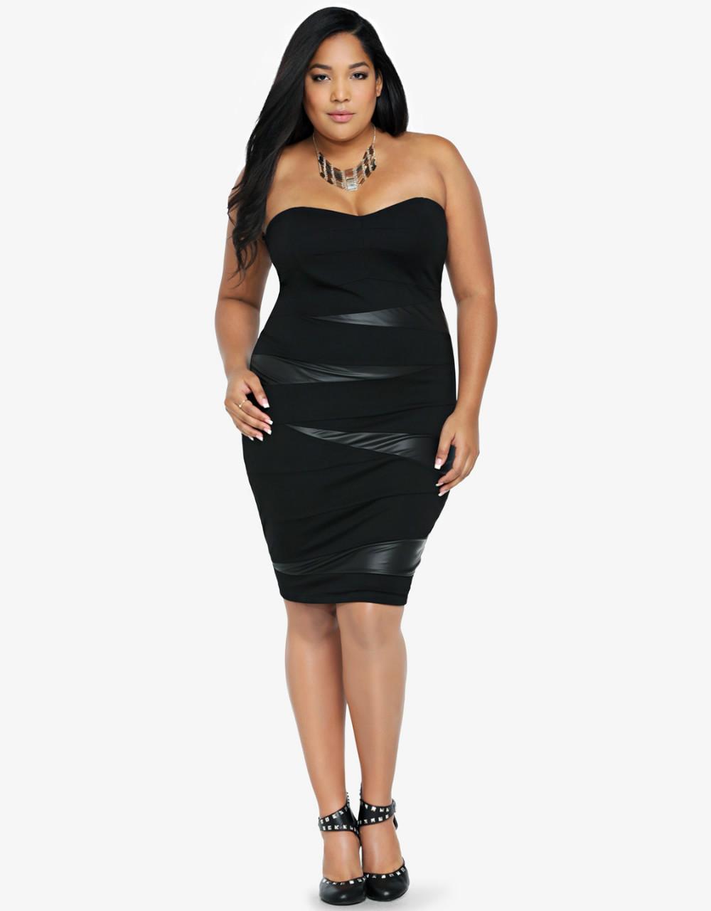 2014 New Fashion Women Plus Size Dress Sexy Vintage ...