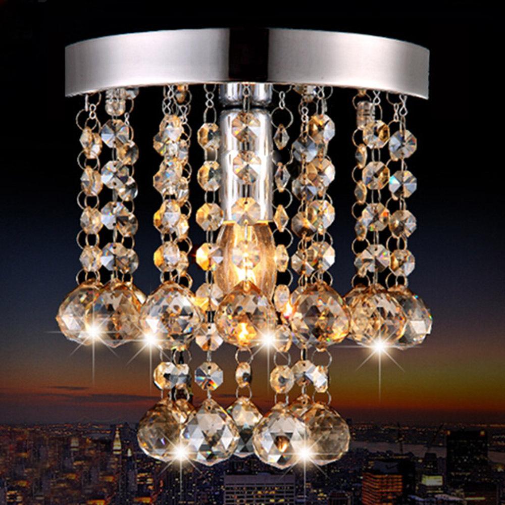 Plafondlampen kristallen koop goedkope plafondlampen kristallen ...