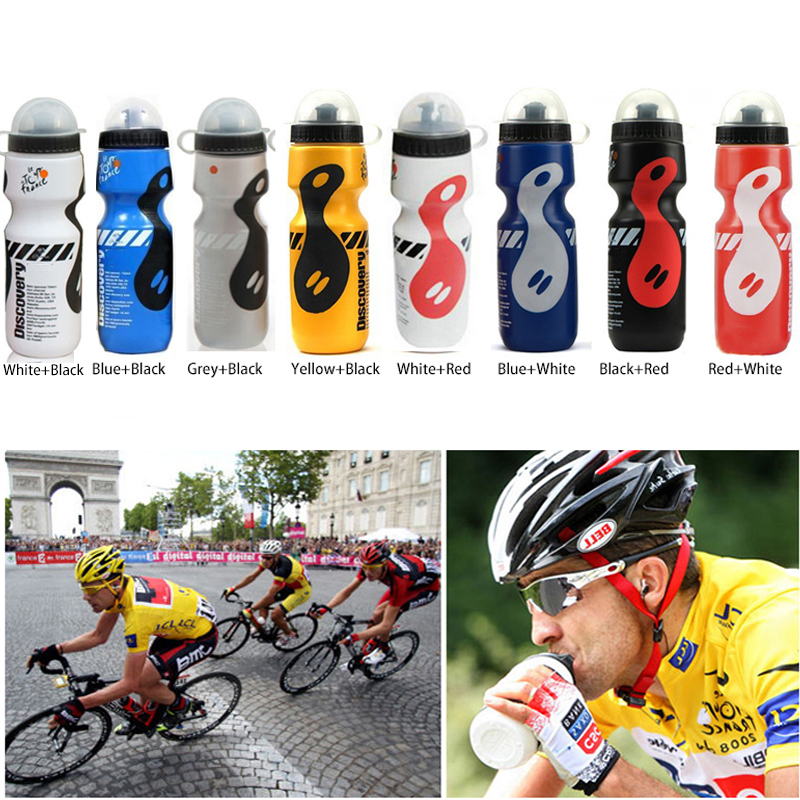 Portable Plastic Outdoor 650ml Mountain Bike Bicycle Cycling Sports Water Bottle with Straw Lid(China (Mainland))