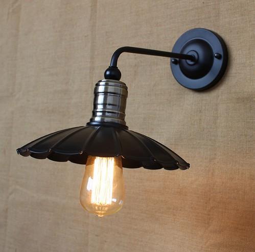 Loft style d coratif edison applique murale ikea mur - Lampe industrielle ikea ...