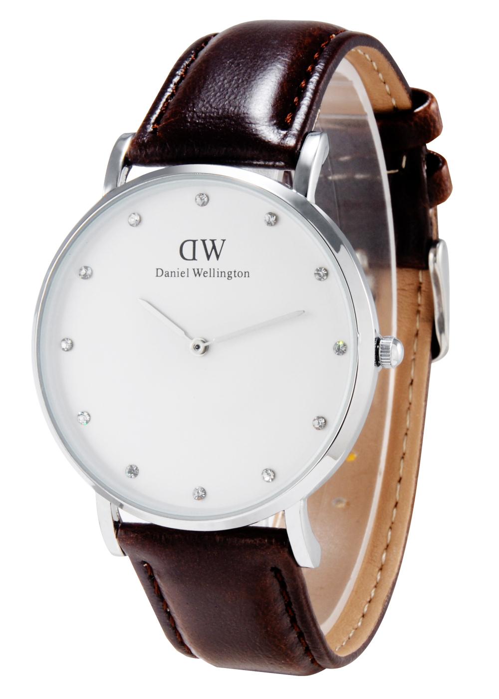 Brand Luxury Watches Men Watch 40mm For Men women Leather strap Military Quartz Clock Reloj with