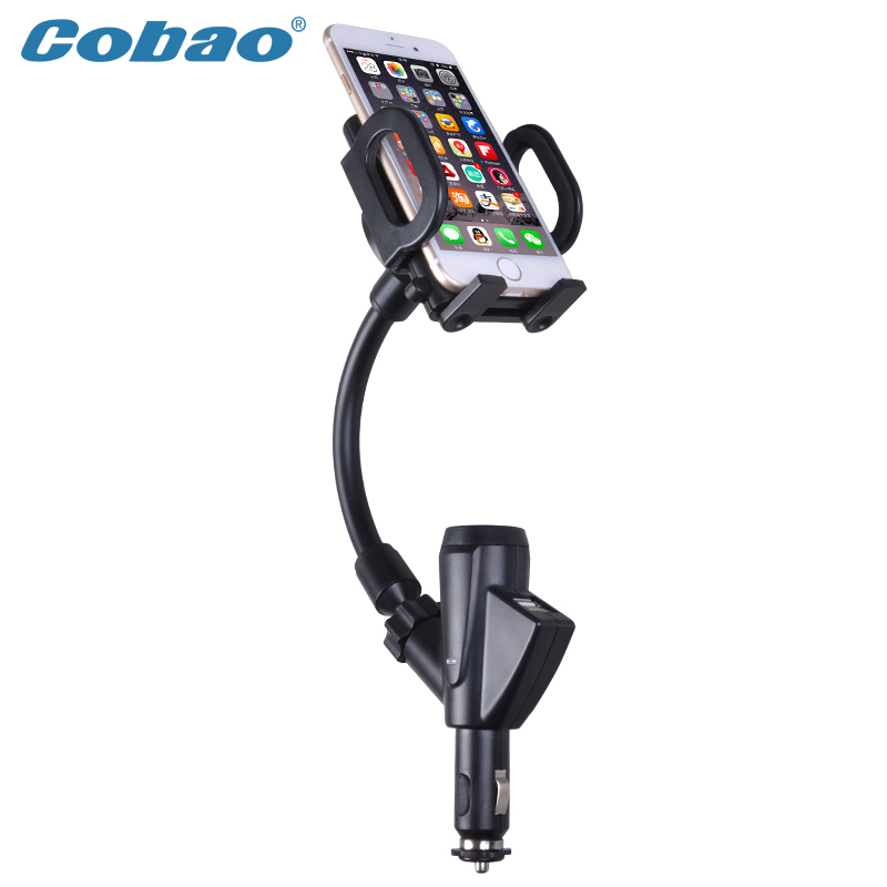 Car Mobile Phone Holder Flexible Bracket Selfie Stand Mount Monopod Styling Accessories For Apple Iphone Samsung Gps(China (Mainland))