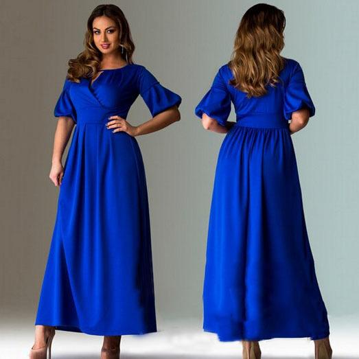 Длинные платья 48 размера фото