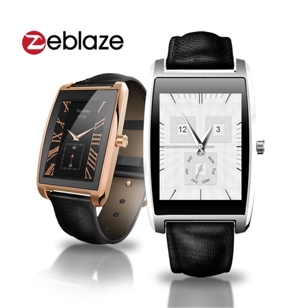 "Zeblaze Cosmo BT4.0 IP65 Waterproof Smart Watch MTK2502C Pedometer Heart Rate 1.61"" IPS Smartwatch For IOS Android Smartphones(China (Mainland))"