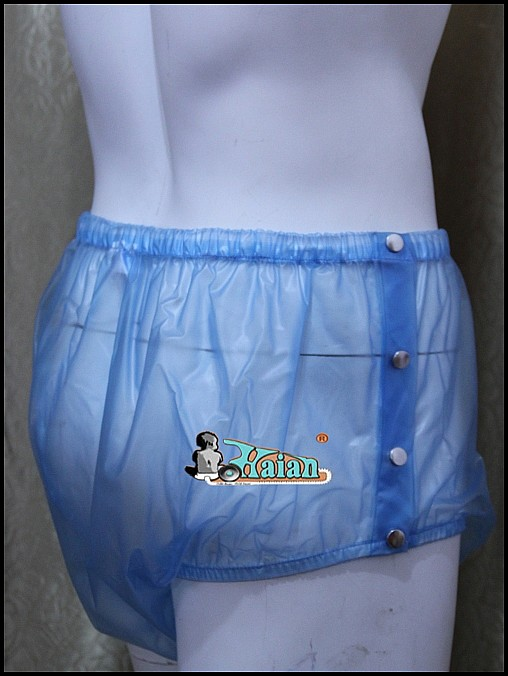 ADULT BABY incontinence PLASTIC PANTS P004-6T,Size:M / L / XL / XXL(China (Mainland))