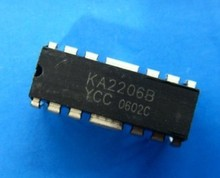 KA2206B DIP DIP speaker amplifier block amplifier ic