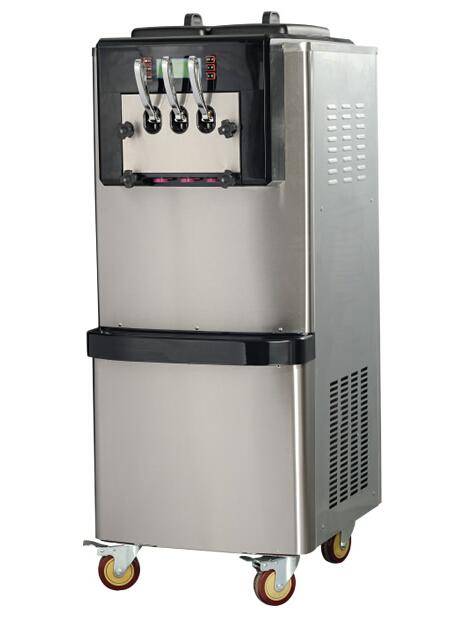 Гаджет  The  Vertical  soft  ice cream machine with 16 soft hard is adjustable, ice cream maker hot sale None Бытовая техника