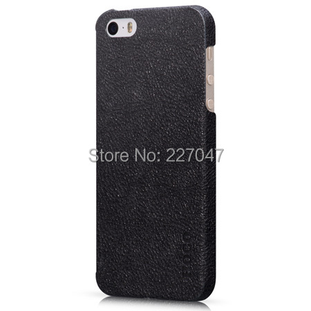 Original HOCO Slimfit Series Genuine Real Leather Case iPhone 5s 5G + Screen Protector - Pranino Products, LLC store