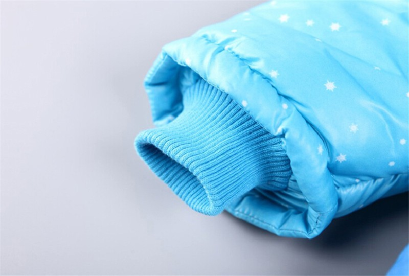 New 4-7 yrs children clothing coats Cinderella girls winter warm Coat For children cotton padded jacket girls outer wear