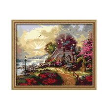 Diy digital oil painting coloring by numbers home decor hand painted  modular patterns on the wall pictuer The Fairyland arts(China (Mainland))