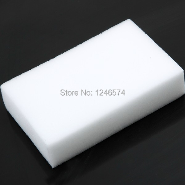 2pcs Magic Sponge Eraser Melamine Cleaner,multi-functional Cleaning 100x60x20mm Free Shipping(China (Mainland))