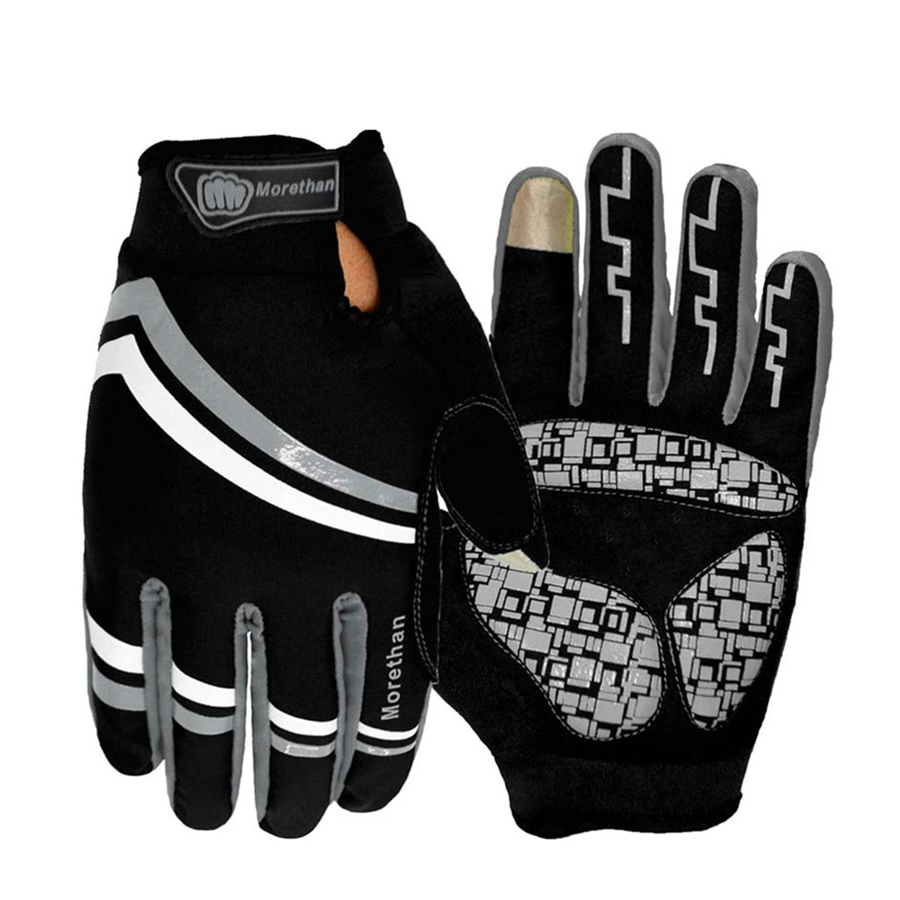 GEL Full Finger Men Cycling Gloves mtb bike gloves/bicycle ciclismo racing sport breathable thick shockproof /guantes ciclismo(China (Mainland))