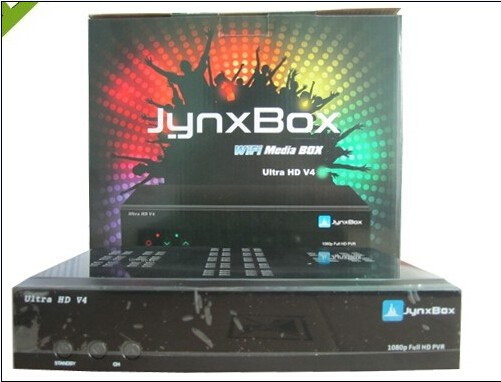 Free shipping Jynxbox v4 Satellite Receiver with JB 200 tuner , high definition Jynxbox Ultra V4 in North amearican(China (Mainland))