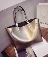 2015 nuova moda borsa tracolla borsa semplice immagine oro argento sacchi di sabbia(China (Mainland))
