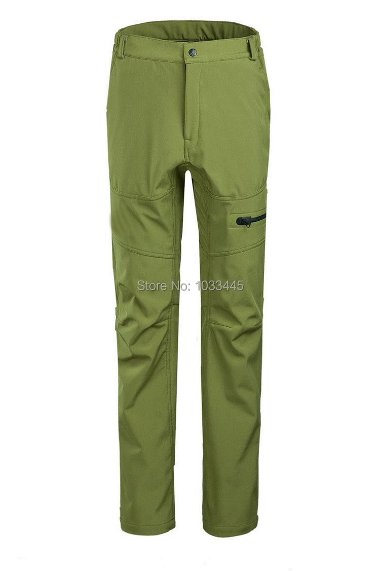 New spring&Autumn&Winter women skiing hiking fishing camping waterproof windproof warm softshell fleece pants trousers(China (Mainland))
