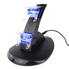 Dual LED Docking Charger Stand Station For Sony for PS3 Wireless Controller(China (Mainland))