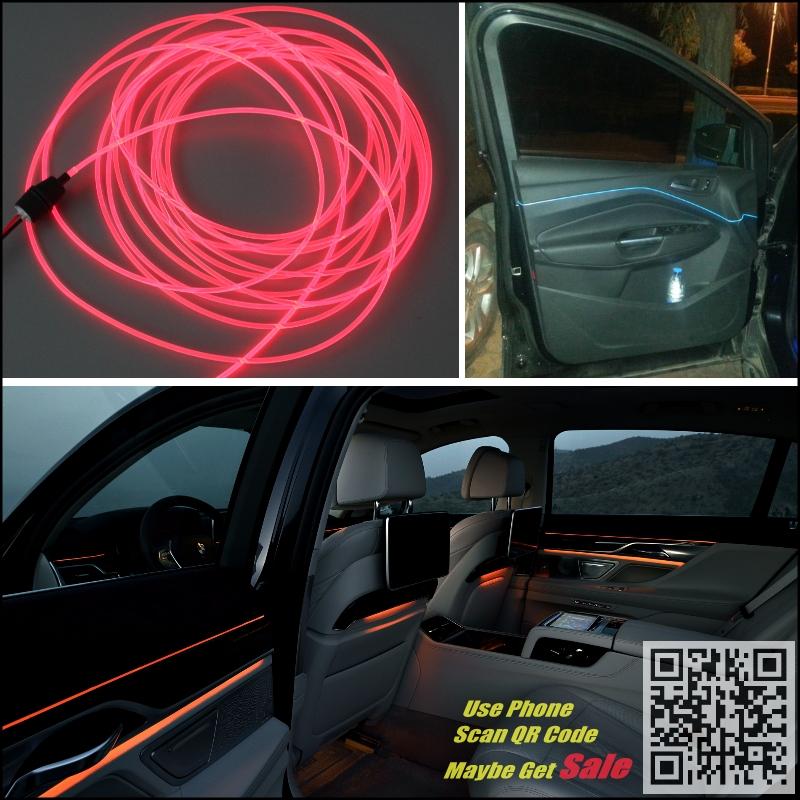 For Chevrolet Niva Car Interior Ambient Light Panel illumination For Car Inside Tunning Cool Strip Light Optic Fiber Band<br><br>Aliexpress