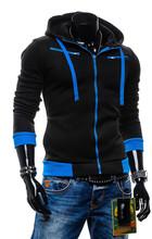 2015 Autumn Cardigan Men Hoodies Jacket Fashion Brand Hoodie Man Casual Slim hoody Sweatshirt Sportswear Zipper Hoodie(China (Mainland))