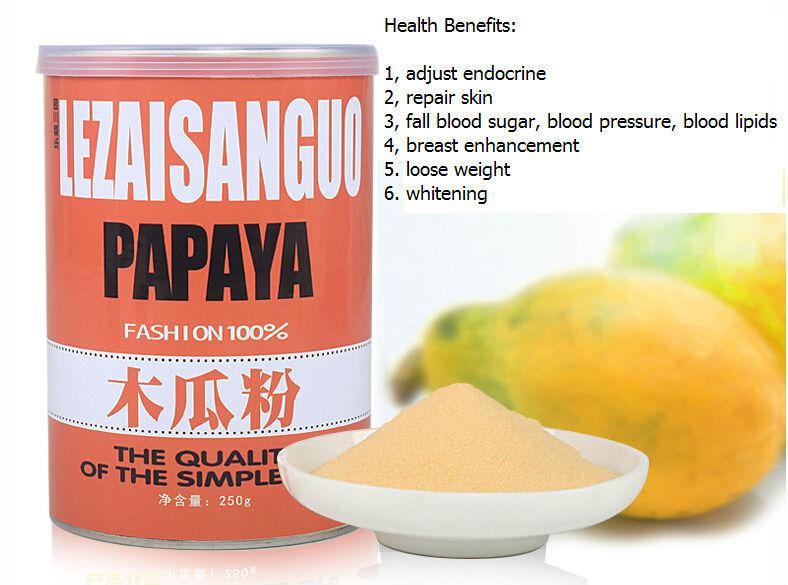 500g Papaya powder tea,organic papaya powder,Health tea,slimming tea,organic tea,Free Shipping(China (Mainland))