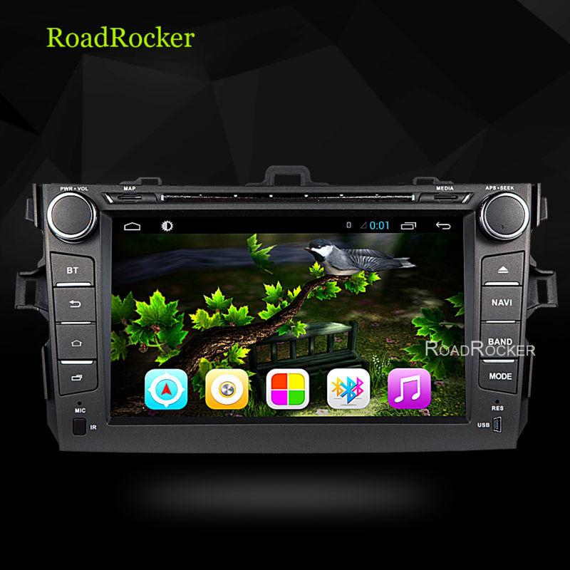 2 din Android 4.2 Car DVD Gps+Glonass car dvd gspToyota corolla 2009 2010 2011 radio bluetooth dvd car pc stereo navigation(China (Mainland))