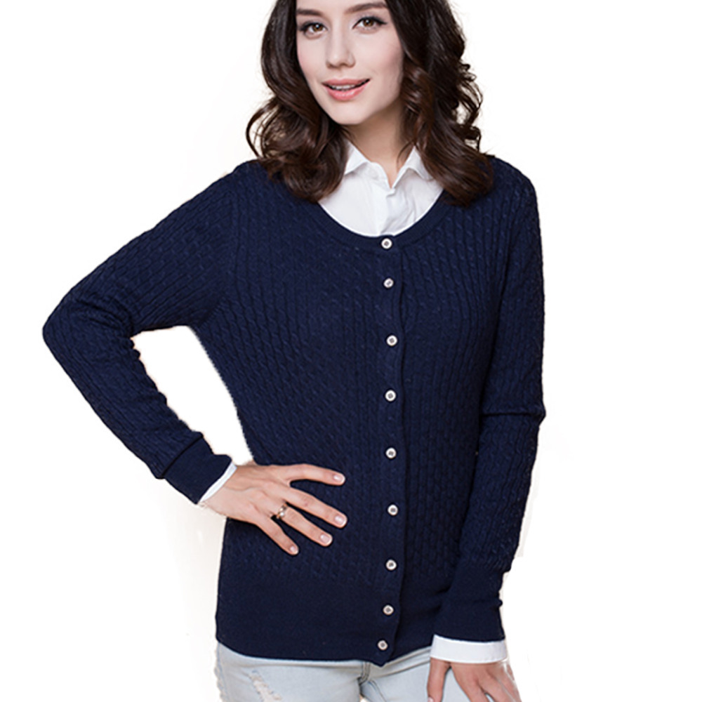 2015 new fashion spring women sweater cardigan sweater ...