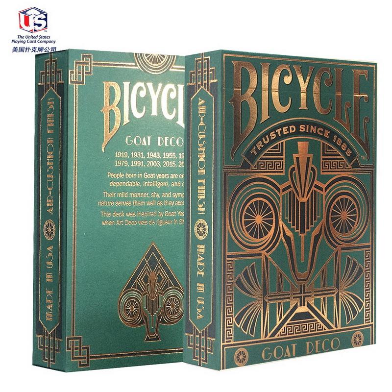 Free Shipping !!! Sheep single license plate zodiac poker goat quality gold collection poker Playing Cards 1pcs/lot(China (Mainland))